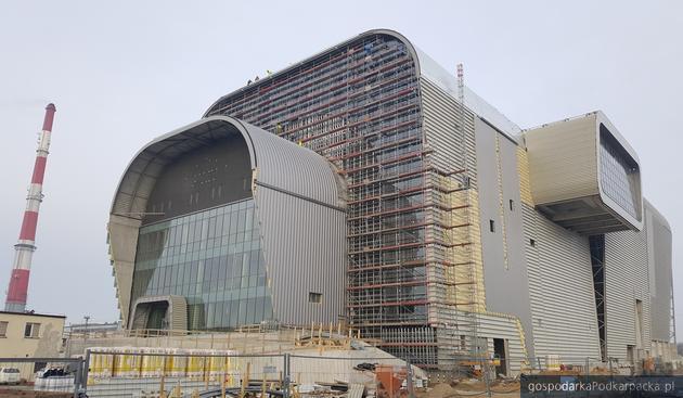 Plac budowy Instalacji Termicznego Przetwarzania Odpadów z Odzyskiem Energii. Fot. PGE