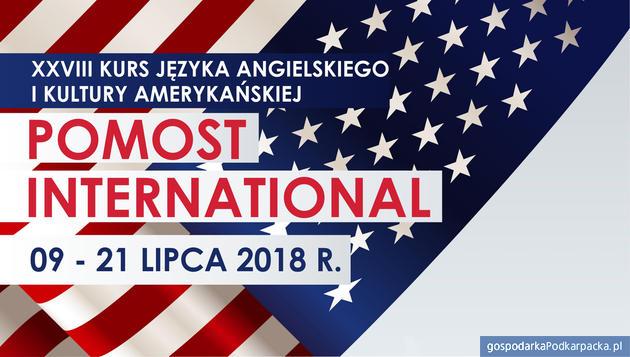 """Zapisy na wakacyjny kurs """"Pomost International"""" 2018"""