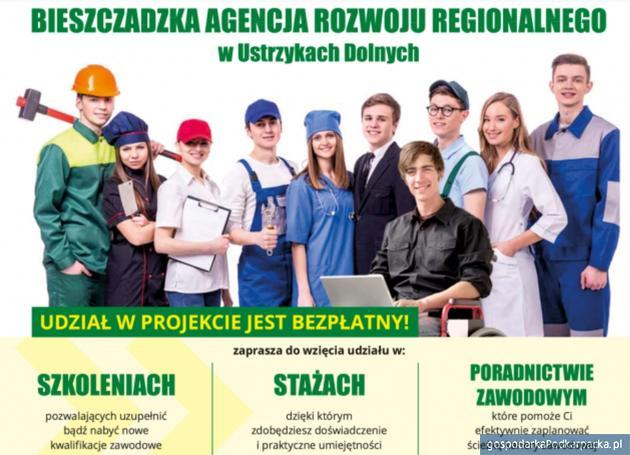 """Nabór na szkolenia i płatne staże - """"Wsparcie młodych na podkarpackim rynku pracy"""""""