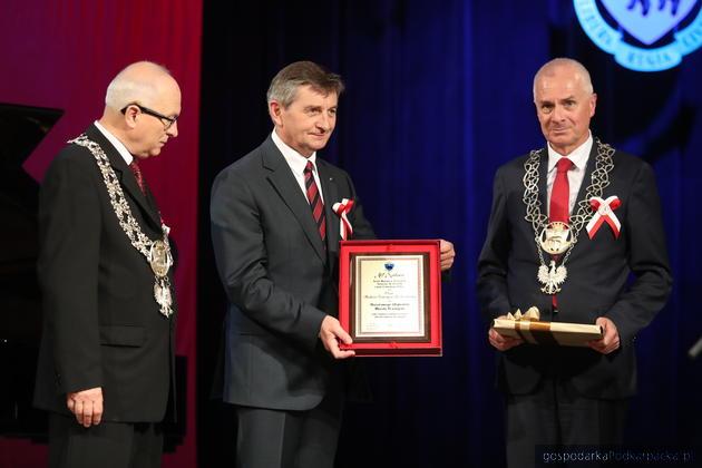 Marek Kuchciński odebrał tytuł Honorowego Obywatela Miasta Przemyśla