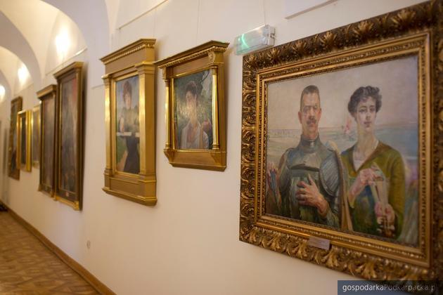 Dzieła Jacka Malczewskiego w Muzeum Okręgowym w Rzeszowie. Fot. muzeum.rzeszow.pl
