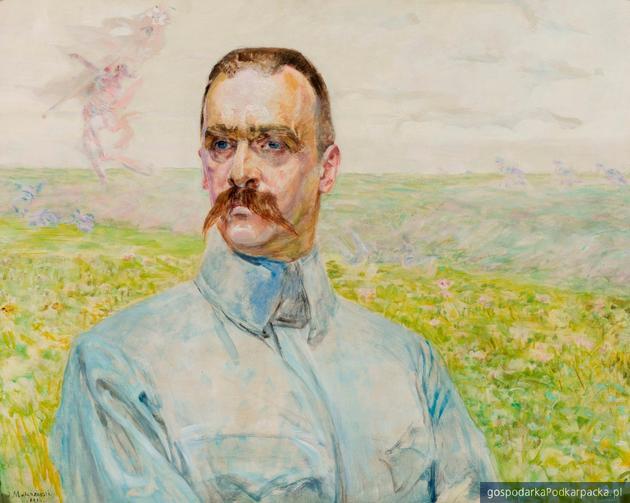 Portret brygadiera Józefa Piłsudskiego, obraz Jacka Malczewskiego