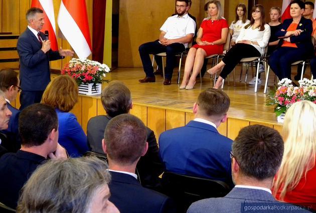 Wicepremier Beata Szydło w Boguchwale