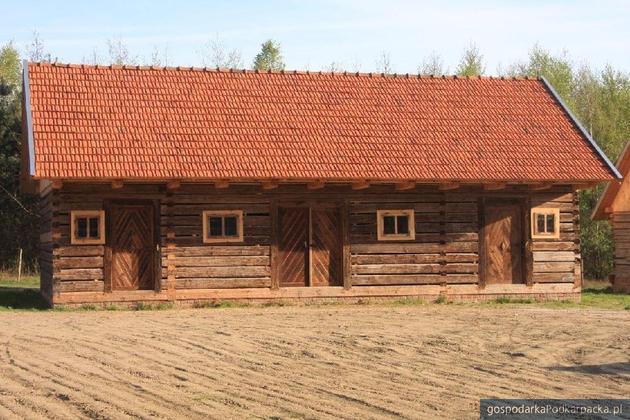 Powstanie leśna ekspozycja w kolbuszowskim skansenie