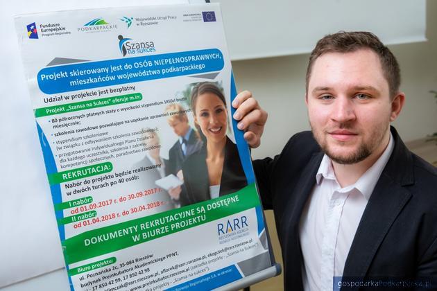 Bartosz Tłuczek, uczestnik pierwszej edycji projektu