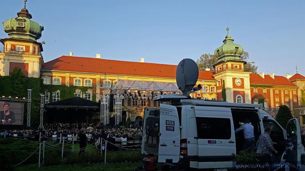 Relacje z 57. Muzycznego Festiwalu w Łańcucie w TVP3 Rzeszów