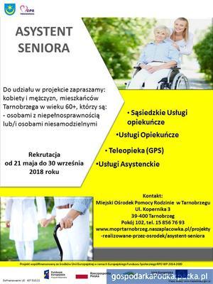 "Projekt ""Asystent Seniora"" w Tarnobrzegu"