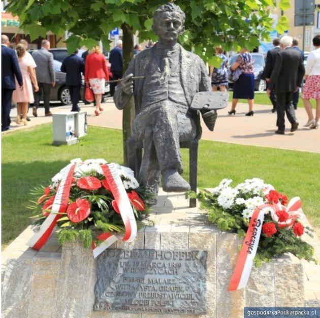 Pomnik Józefa Mehoffera w Ropczycach