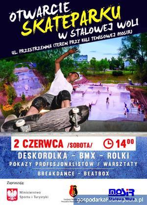 Otwarcie nowego skateparku w Stalowej Woli