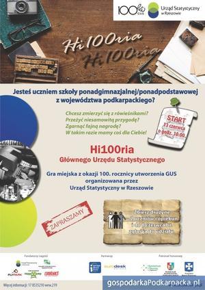 """""""Hi100ria Głównego Urzędu Statystycznego"""" - gra miejska w Rzeszowie"""