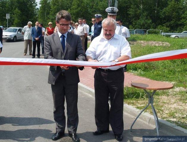 Od lewej burmistrz Głogowa Małopolskiego Paweł Baj i prezes firmy MPDiM Franciszek Kosiorowski. fot. archiwum