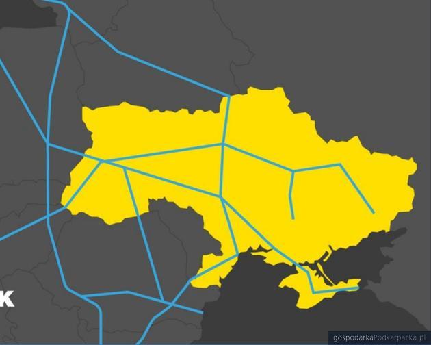 Mapka z ukraińskiego rządowego dokumentu Drive Ukraine 2030