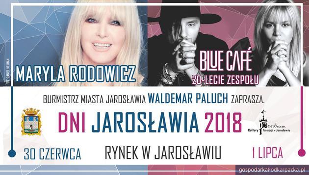 Dni Jarosławia 2018 – Maryla Rodowicz i Blue Cafe