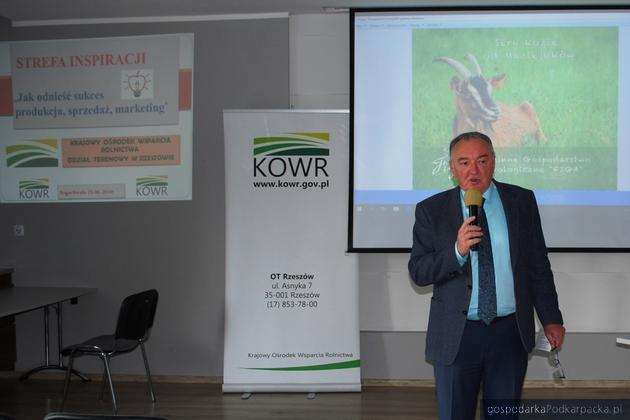 Jerzy Borcz, dyrektor OT KOWR w Rzeszowie. Fot. Mariusz Trojak