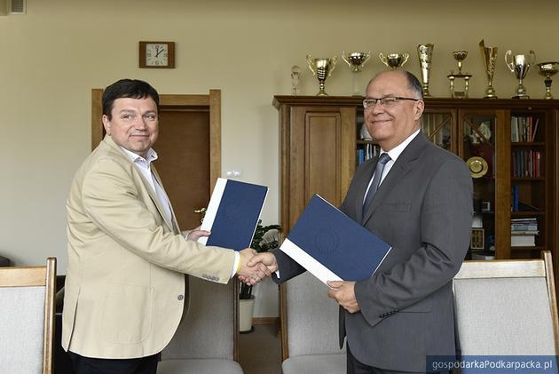 Umowa Uniwersytetu Rzeszowskiego z  zTarnopolskim Narodowym Uniwersytetem Pedagogicznym