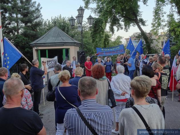 Manifestacja przed sądem w Rzeszowie – 3 lipca 2018
