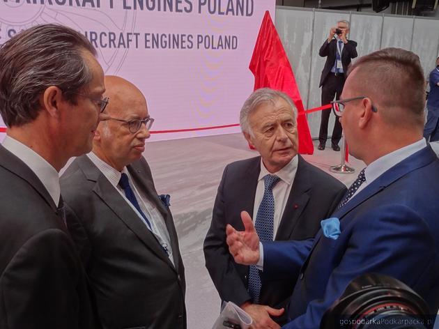 Nowy zakład Safran w Sędziszowie Małopolskim oficjalnie otwarty