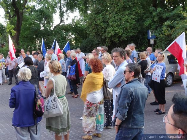 Manifestacja pod sądem w Rzeszowie – 4 lipca 2018