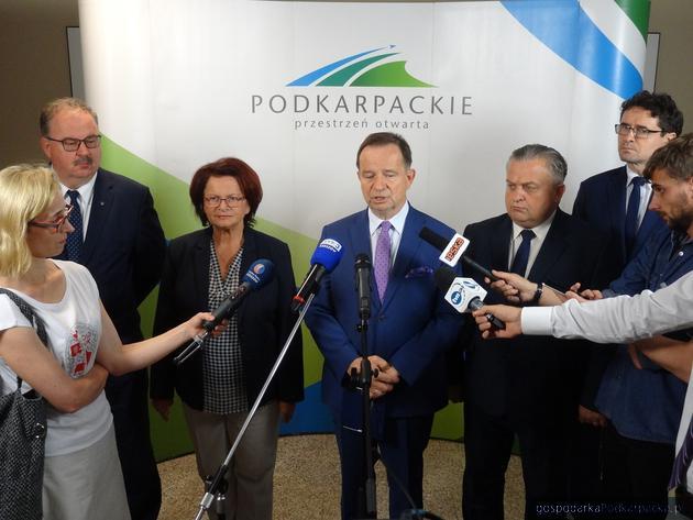 Konferencja w Urzędzie Marszałkowskim, piątek 6 lipca 2018