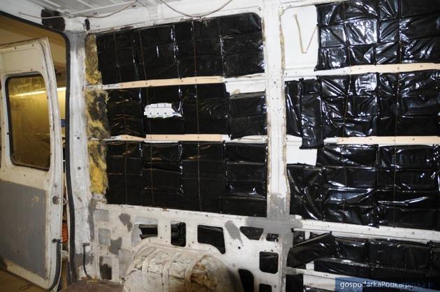 Spory przemyt papierosów na polsko-ukraińskiej granicy