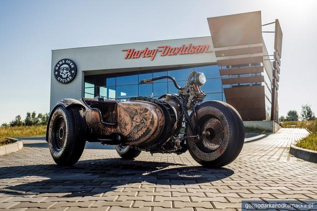 Harley przerabiany przez Game Over Cycles z kolejną nagrodą