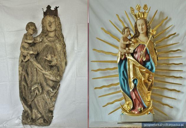 Gotyckie rzeźby w Rakszawie już odnowione