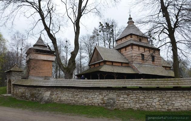 Cerkiew greckokatolicka w Radrużu - drewniany zabytek na liście UNESCO