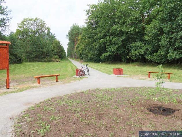 W Stalowej Woli powstała nowa ścieżka rowerowa