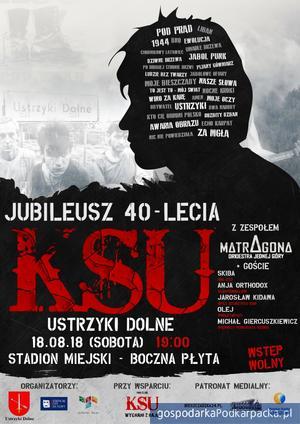 40 - lecie KSU! Koncert w Ustrzykach Dolnych