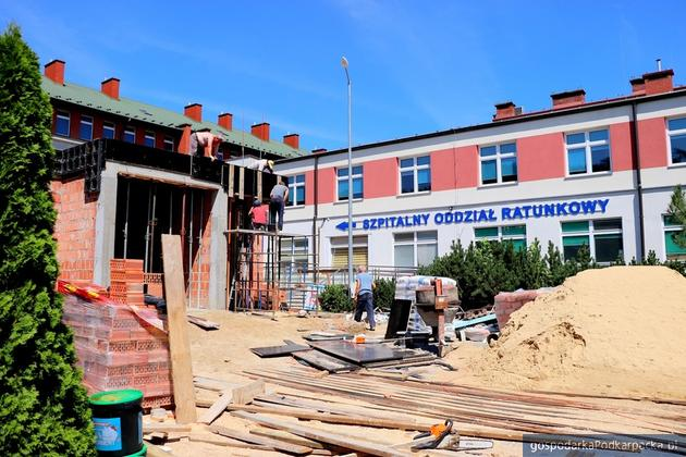 Wkrótce zakończy się rozbudowa SOR w mieleckim szpitalu