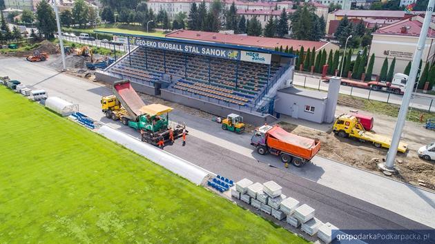 Na stadionie w Sanoku wkrótce pojawi się tartanowa bieżnia