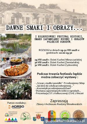 """""""Dawne smaki i obrazy…"""" kulinarno-historyczna impreza w Kolbuszowej"""