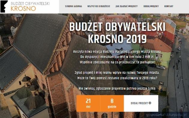 Budżet obywatelski Krosna 2019 - można już składać propozycje