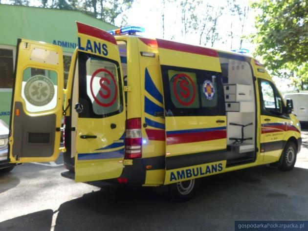 Szpital Specjalistyczny w Jaśle otrzymał nową karetkę