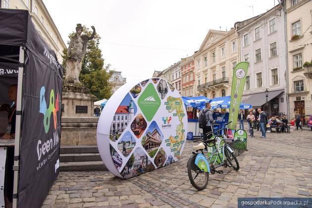 Podkarpackie i szlak z Green Velo były prezentowane we Lwowie