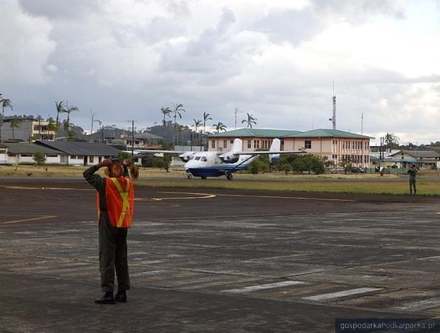Samolot M28 z Mielca trafił już do ekwadorskiej armii