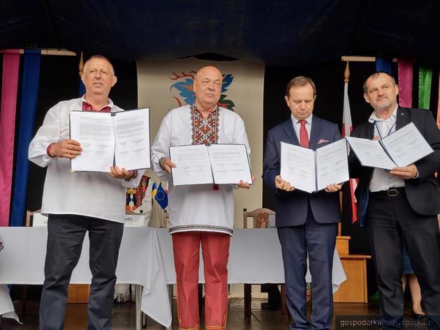 Umowa o współpracy Podkarpackiego i Zakarpacia