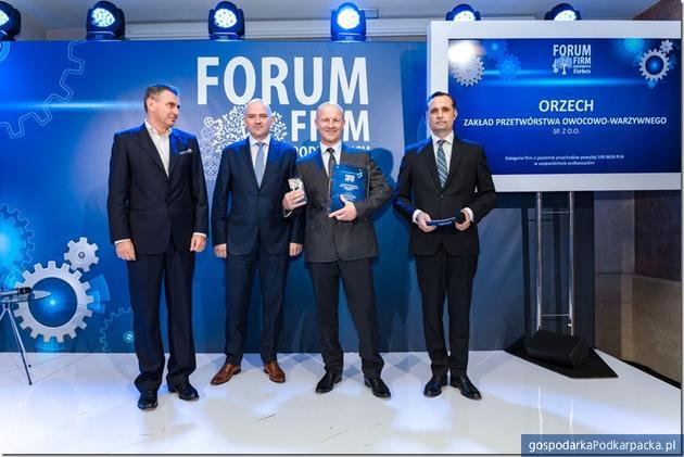 """Orzech z pierwszą lokatą w rankingu firm rodzinnych """"Forbes"""""""