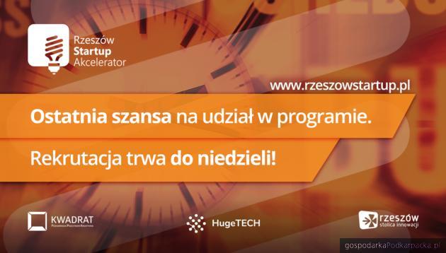 Rusza Rzeszów Startup Akcelerator 2018