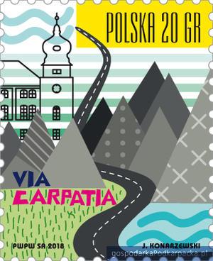 Znaczek Via Carpatia