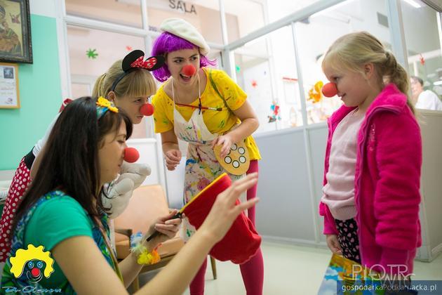 Uliczna akcja fundacji Dr Clown