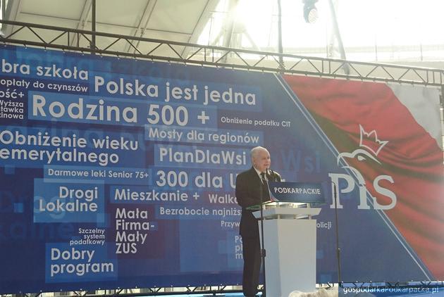 Jarosław Kaczyński. Fot. PIS