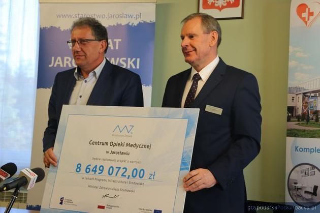 Kolejne miliony złotych na inwestycję w jarosławskim szpitalu