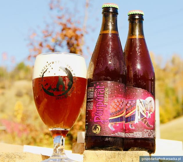 """""""Purpurat z Nieszczad"""" - nowość z Bieszczadzkiej Wytwórni Piwa Ursa Maior"""