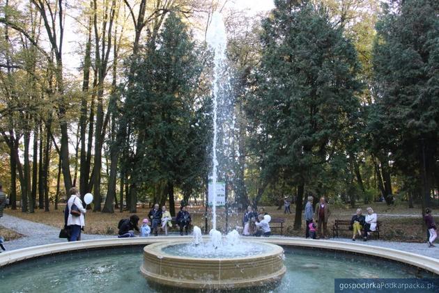 Park Miejski w Jarosławiu już po rewitalizacji