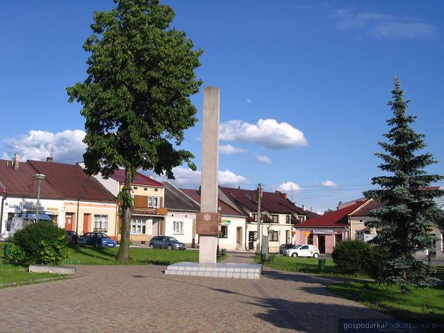 Rynek w Głogowie Małopolskim będzie odnawiany. Powstanie fontanna