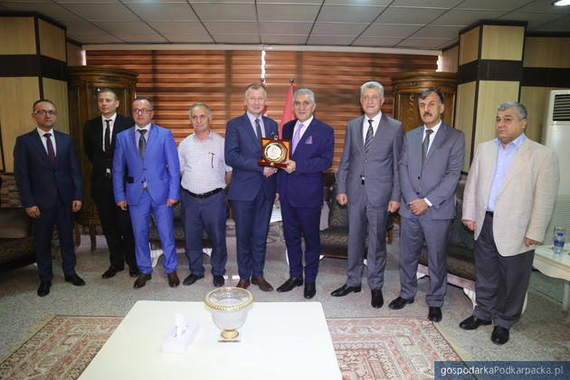 Spotkanie w Izbie Przemysłowo-Handlowej w Sulejmaniji