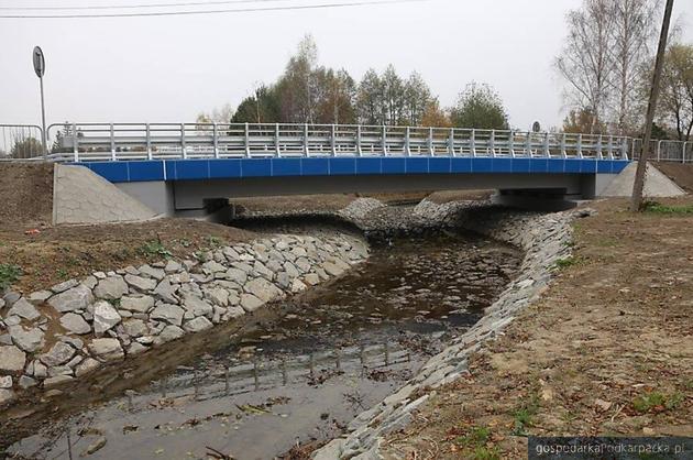 Most w Zręcinie już po przebudowie