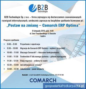 Comarch ERP Optima - spotkanie biznesowe