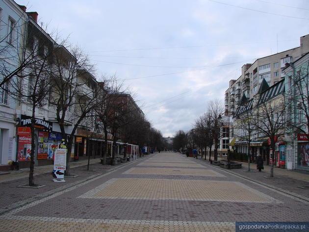Ulica Proskuriwska w Chmielnickim